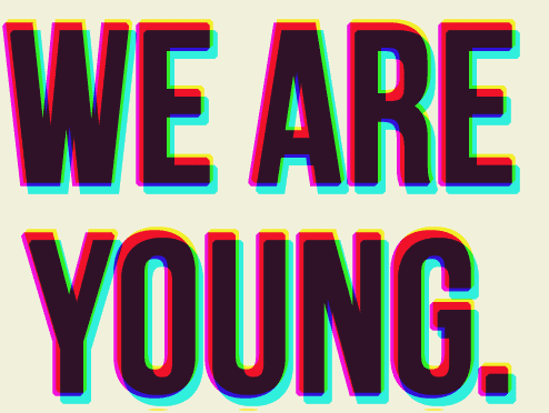 Song we are young by fun