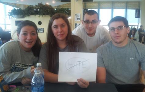 Students Seeking Answers In Regard to KKK poster