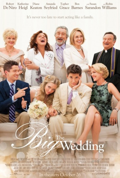 Movie &#8211; &#8220;The Big Wedding&#8221; &#8211;  Every Family is Different. Some are More Crazier than Others but the Love between them can still be just as Strong!