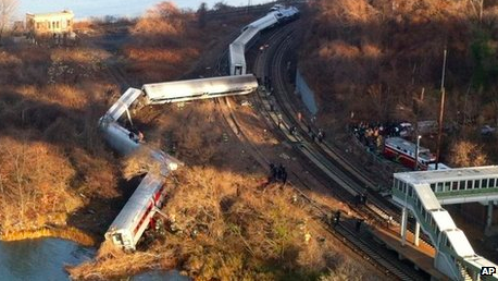 Metro-North Train Derails