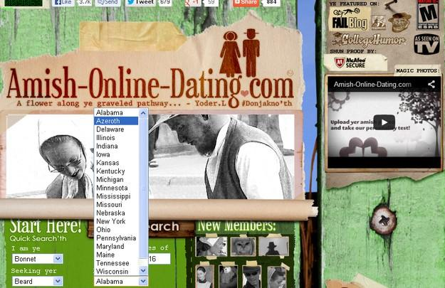 Types of online dating websites