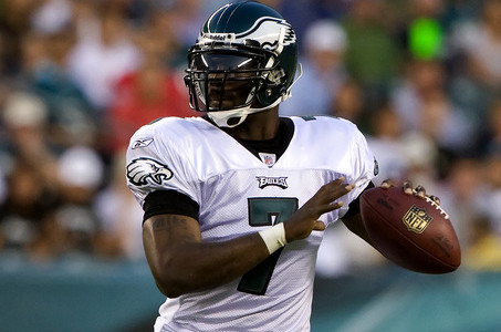 Michael Vick in, Mark Sanchez out