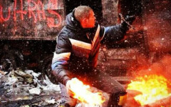 Ukrainian Student Troubled By The Violence In His Homeland