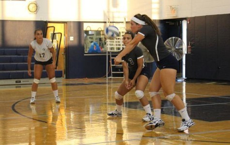 White's Fifth 20-Kill Effort Leads Volleyball to 3-0 Sweep of Nyack