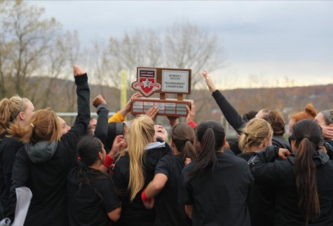 Women's Soccer Wins ECC Championship In Honor Of Fallen Teammate