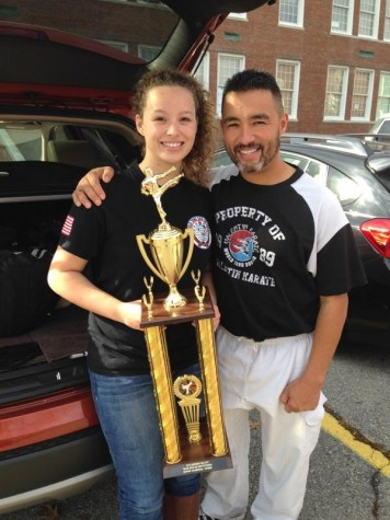 Third Degree Black Belt Teaches Self Defense Class To Her Peers