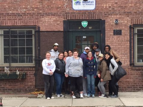 Mercy Student Help Build Affordable Housing