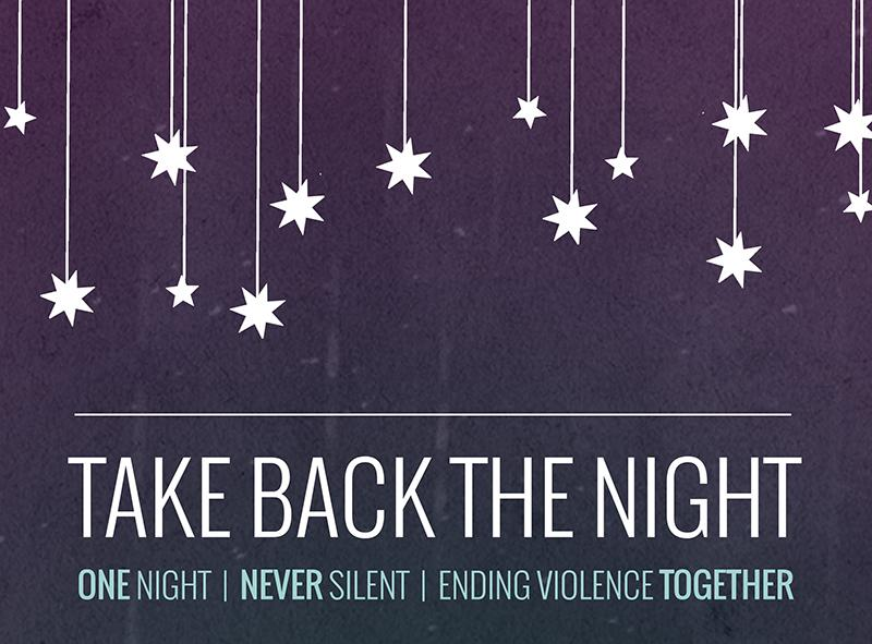 Sexual Assaults Protested At Take Back The Night Event