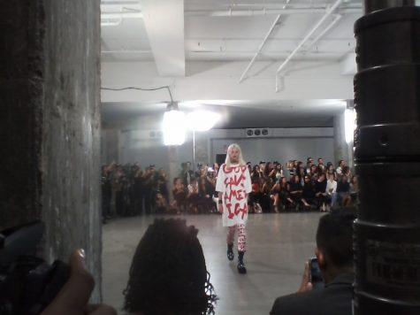 Schoolin' It on NY Fashion Week