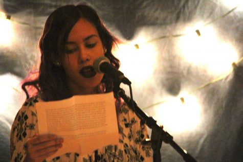 Students Open Up Their Hearts and Talents At Open Mic Night