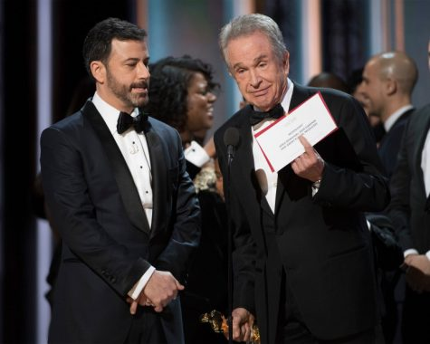 Oscars Envelope Reads Wrong