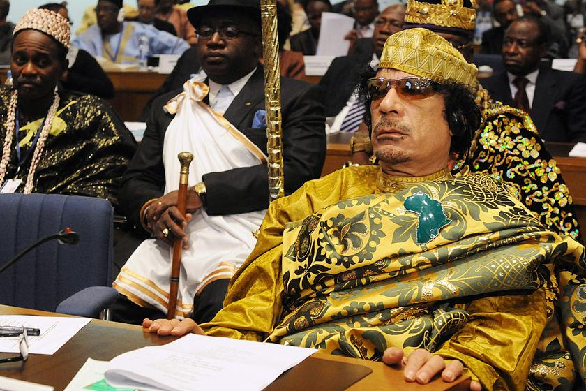Gaddafi remained defiant to the end in regard to his hold over Libya.