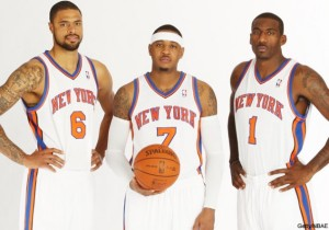 (From L to R) Chandler, Anthony, and Stoudemire