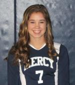 Mercy Freshman Volleyball Star Keeping Her Head In The Game