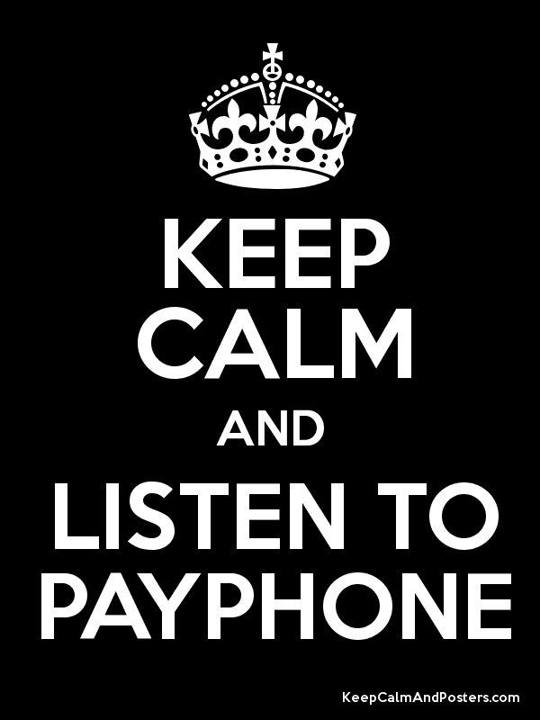 "Lyric payphone lyrics youtube : Payphone"" Song by the Group Maroon 5 – Do Not Fight with the ..."