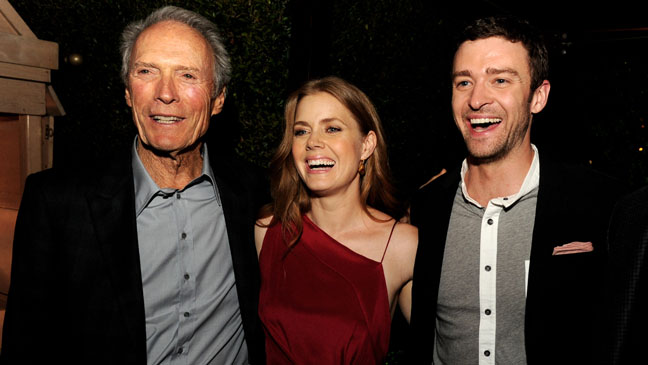 Actors (In Order from Left to Right) - Clint Eastwood, Amy Adams and Justin Timberlake