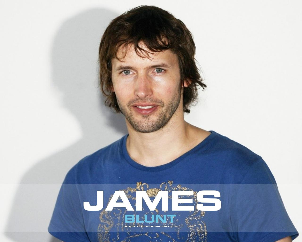 JAMES BLUNT WALLPAPER - IN BLUE