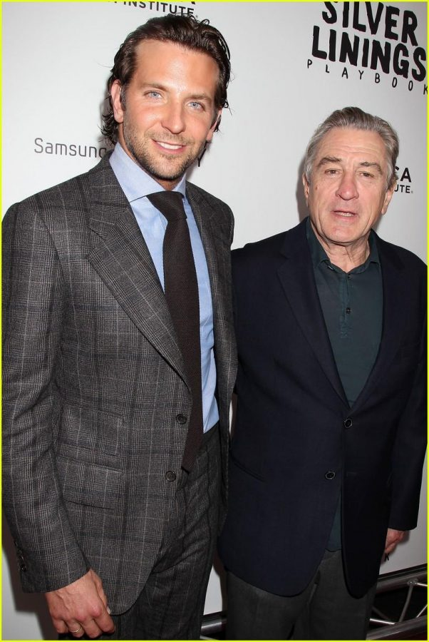 LOOKING SHARP - BRADLEY COOPER AND ROBERT DENIRO AT A PREMIERE FOR THEIR MOVIE