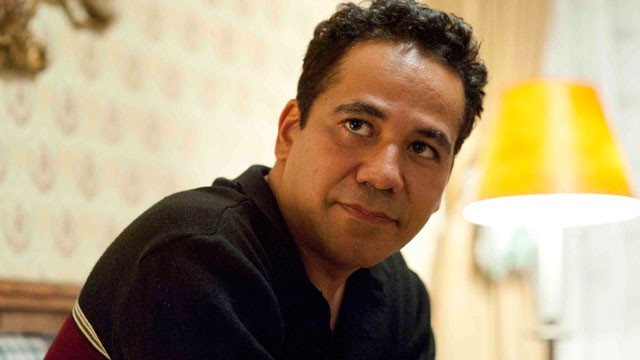 JOHNN ORTIZ  WHO PLAYS RONNIE AND IS PAT'S BEST FRIEND IN MOVIE.