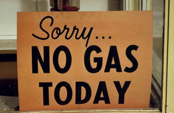 The Shortage of Gasoline after Hurricane Sandy