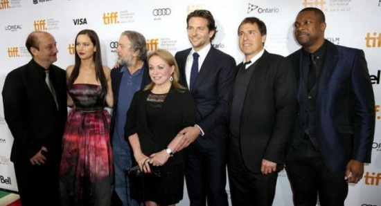 """FULL CAST AND CREW AT THEIR MOVIE """"SILVER LINING PLAYBOOK"""" PREMIERE."""