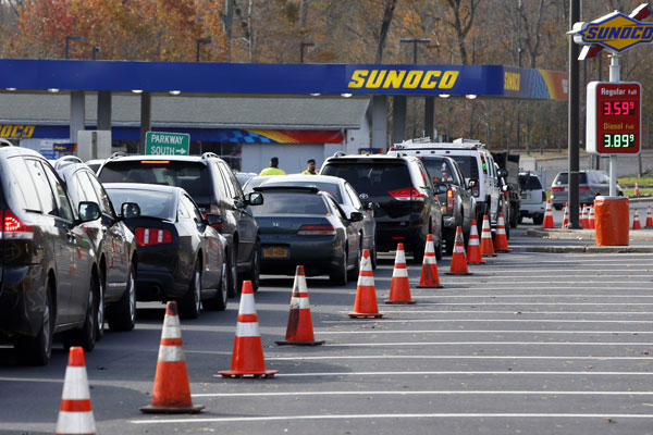 President Obama At Fema >> The Shortage of Gasoline after Hurricane Sandy – The Impact