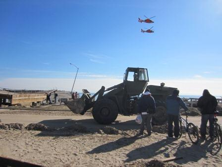 Rockaway Residents Lend and Receive Support