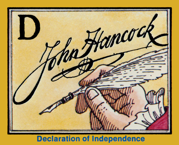 JOHN HANCOCK CARTOON