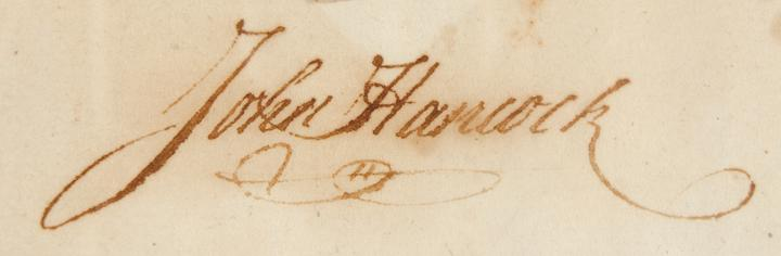 John Hancock Name