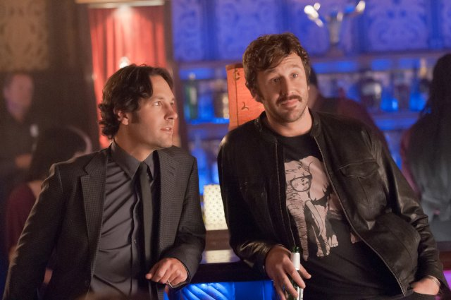 SCENE - PAUL RUDD AND CHRIS O-'DOWD AT BAR HANGING OUT.