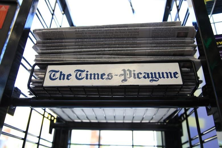 The Times Picayune Door