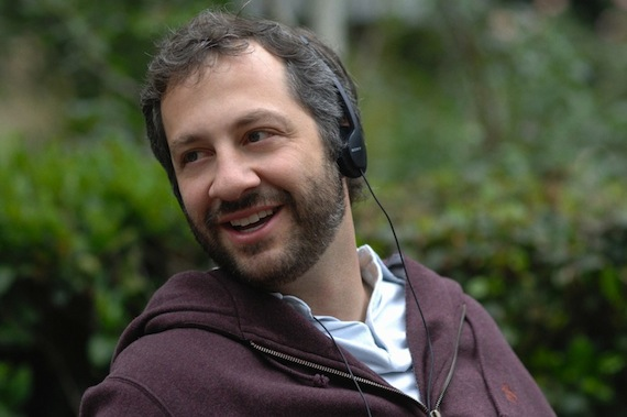 JUDD APATOW -  SCENE IN ONE OF HIS MOVIES THAT HE DIRECTED AND STARED IN.