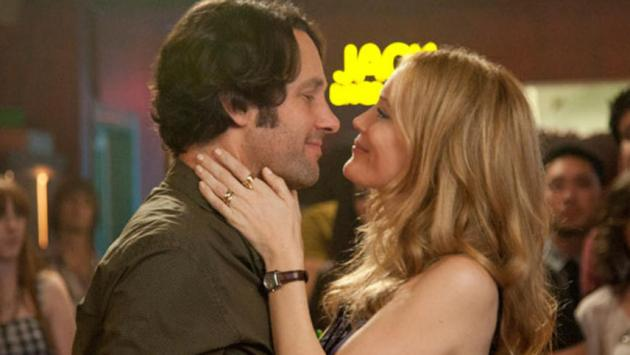 """SCENE IN """"THIS IS 40"""" - PARENTS KISSING AT A CLUB. THEY ARE TRYING TO GET THEIR MARRIAGE BACK IN ORDER."""