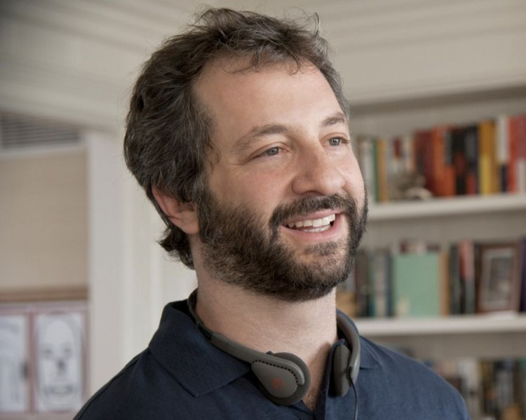"""JUDD APATOW  - SCENE IN """"THIS IS 40."""" JUDD APATOW PLAYS FRIEND OF ACTOR PAUL RUDD."""