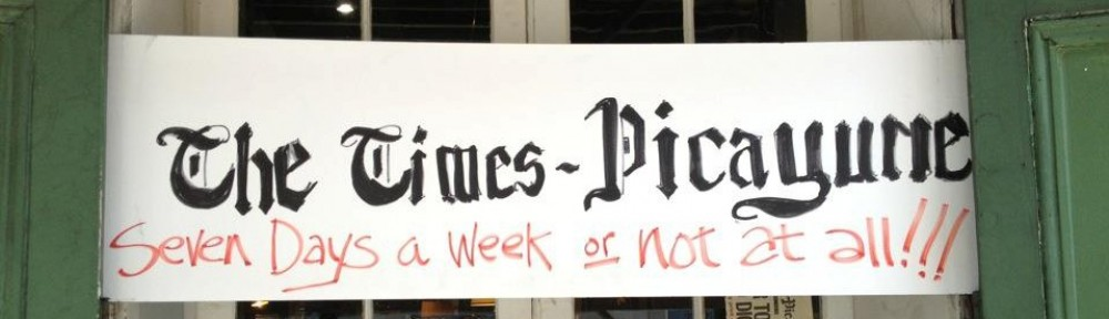 Time Picayune - Seven Days a Week or not at all !!!