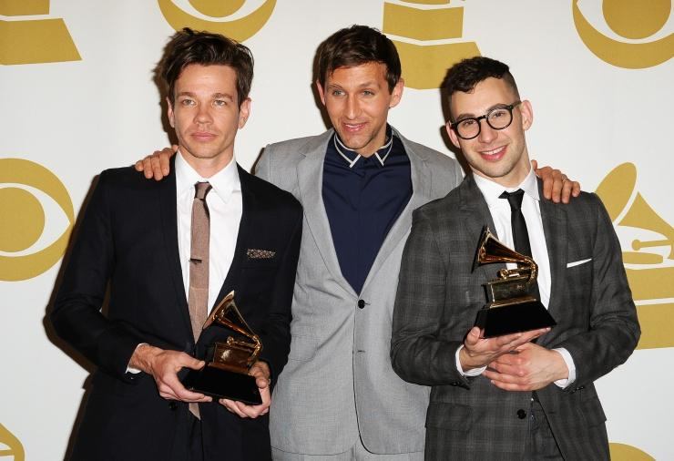 WINNER OF TWO AWARDS AT THE 2013 GRAMMY'S. I AM SO VERY PROUD OF THEM AND I TOTALLY LOVE YOU GUYS. KEEP ROCKING !!