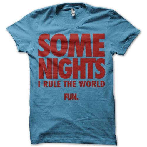 SOME NIGHT TEE SHIRT
