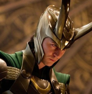 Tom Hiddleson as Loki