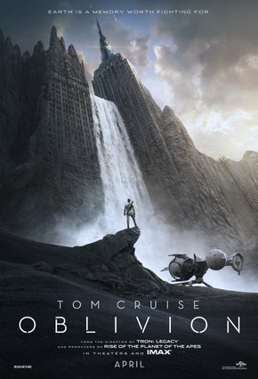 "Tom Cruise Thrust into ""Oblivion"""