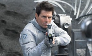 Tom Cruise as Commander Jack Harper