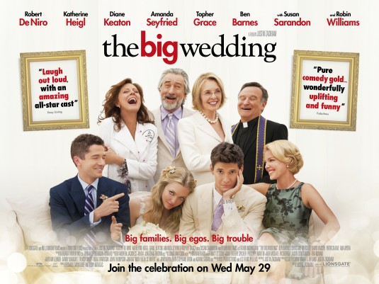 """THE BIG WEDDING"" RARE MOVIE POSTER."
