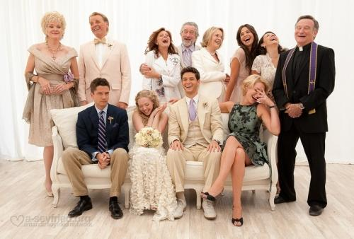 "THE ENTIRE CAST OF THE MOVIE ""THE BIG WEDDING""."