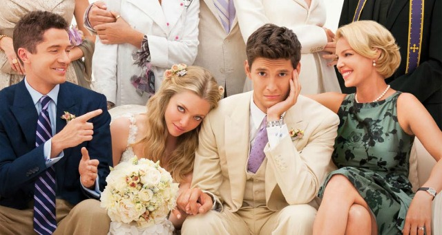 "THE ADULT CHILDREN OF THE MOVIE ""THE BIG WEDDING""."