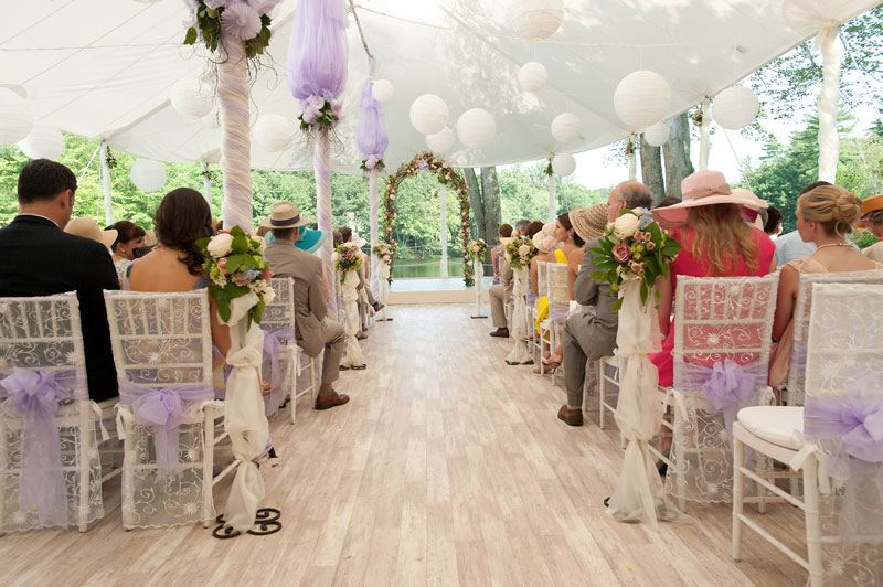 "BEAUTIFUL CEREMONY DECORATION IN MOVIE ""THE BIG WEDING""."