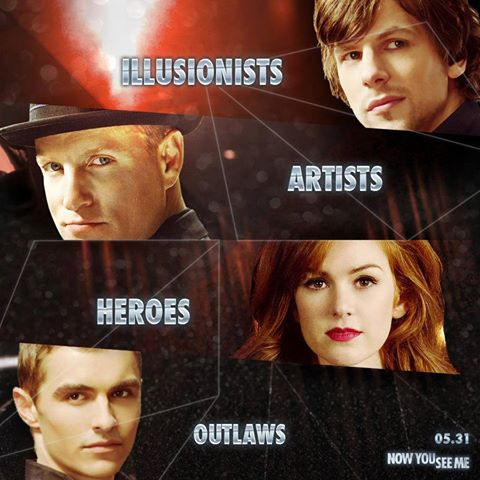 ILLUSIONS-ARTISTS-HEROES-OUTLAWAS (THERE ARE ALL DIFFERENT TYPES OF PEOPLE).