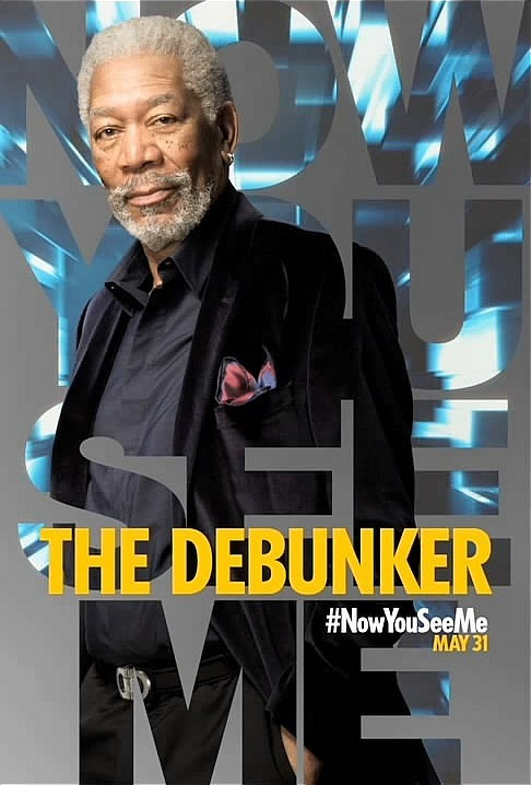 "ACTOR - MORGAN FREEMAN PLAYING ""THE DEBUNKER."""