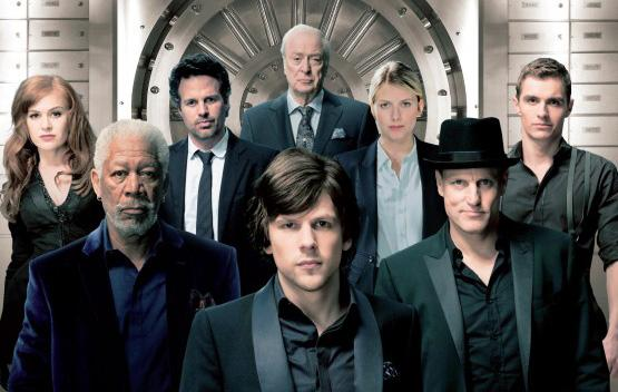 "THE FULL CAST OF ""NOW YOU SEE ME."""