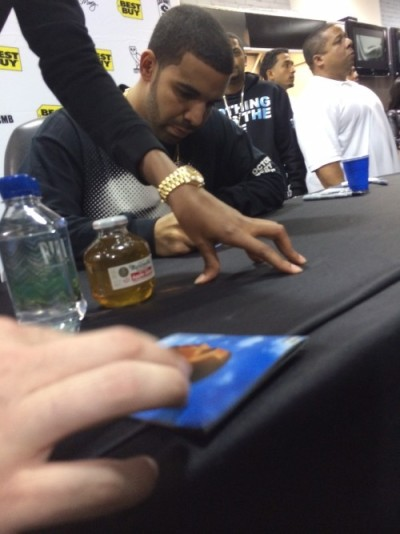 Drake's Album Signing in New York City