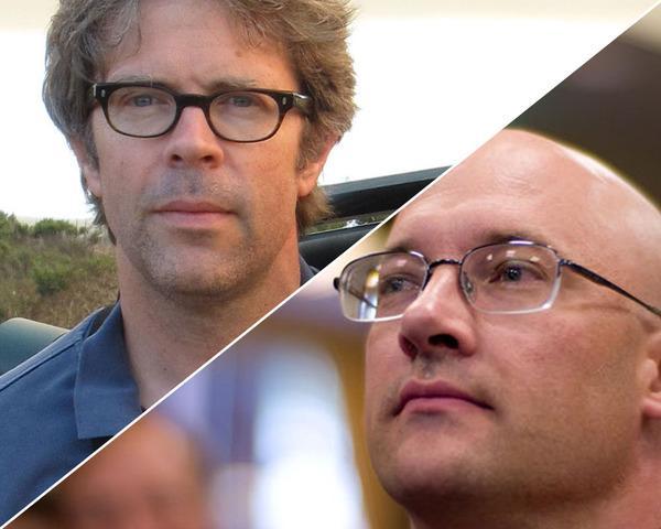 2.2.1.2.Clay_Shirky-and-Jonathan_Franzen-Franzen-image-©-Kathryn_Chetkovich