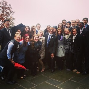 Business Honors Student Visit West Point